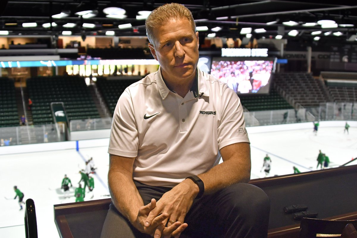 Cole sees MSU hockey on the rise again