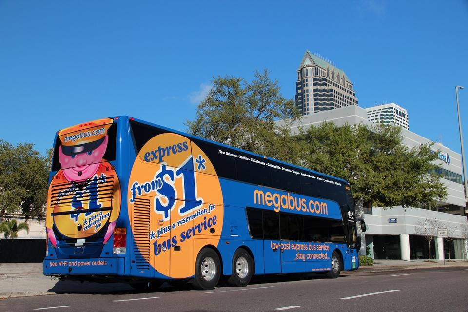 Megabus coming to Daytona