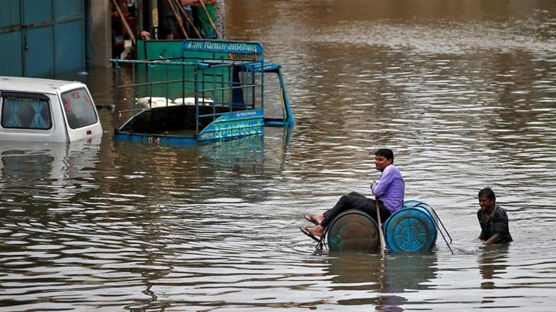 India floods kill 120 people in Gujarat state