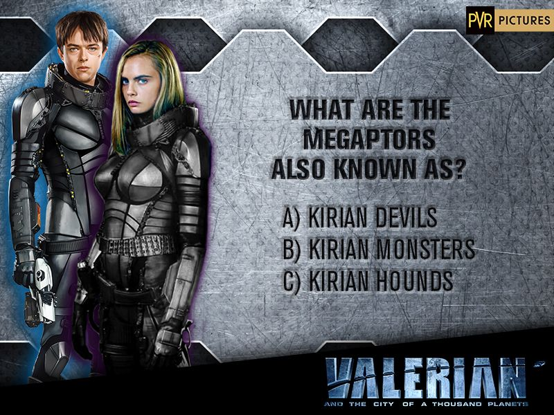 #Contest | What are the Megaptors also known as? T&C applied #Valerian