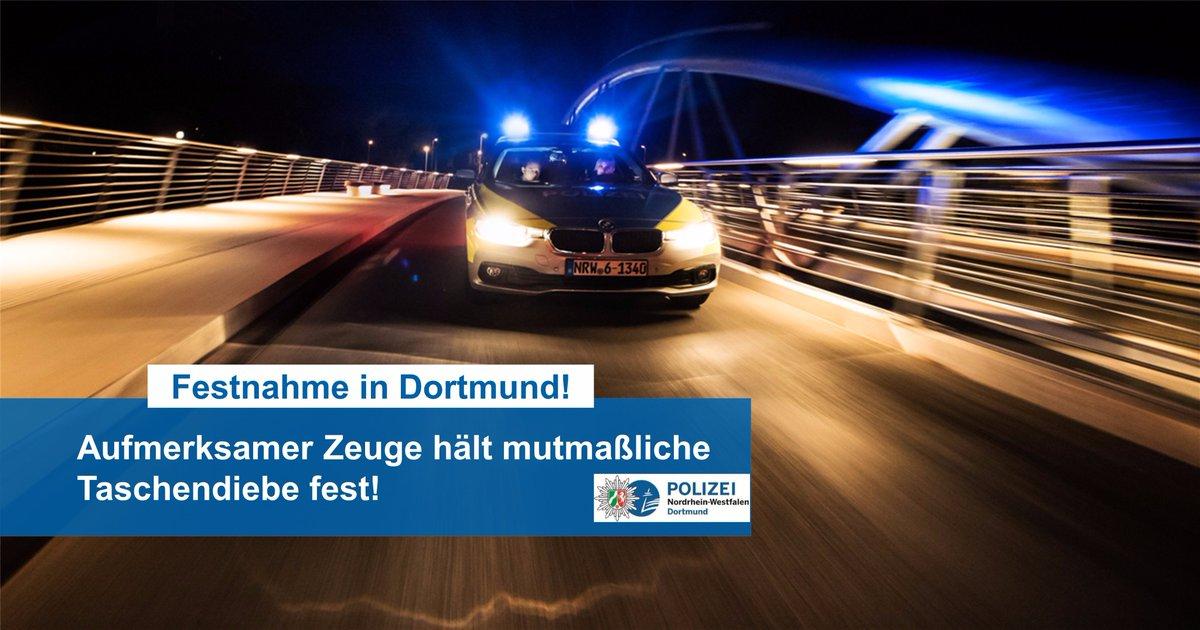 test Twitter Media - Aufmerksamer Zeuge hält mutmaßliche Taschendiebe (15 und 16 Jahre) fest - Festnahme in #Dortmund https://t.co/O5FJswQ4vP https://t.co/EO2aYpcHyp