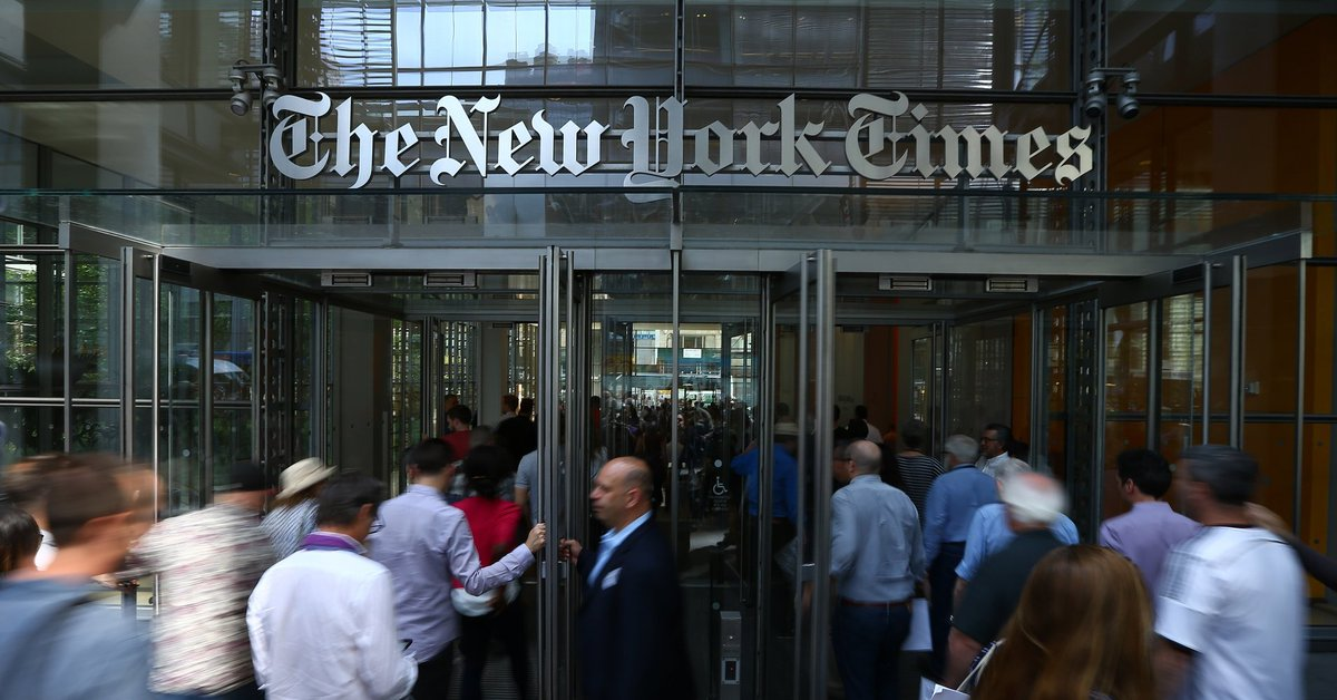 """The """"failing"""" New York Times just hit a new record for subscriptions"""
