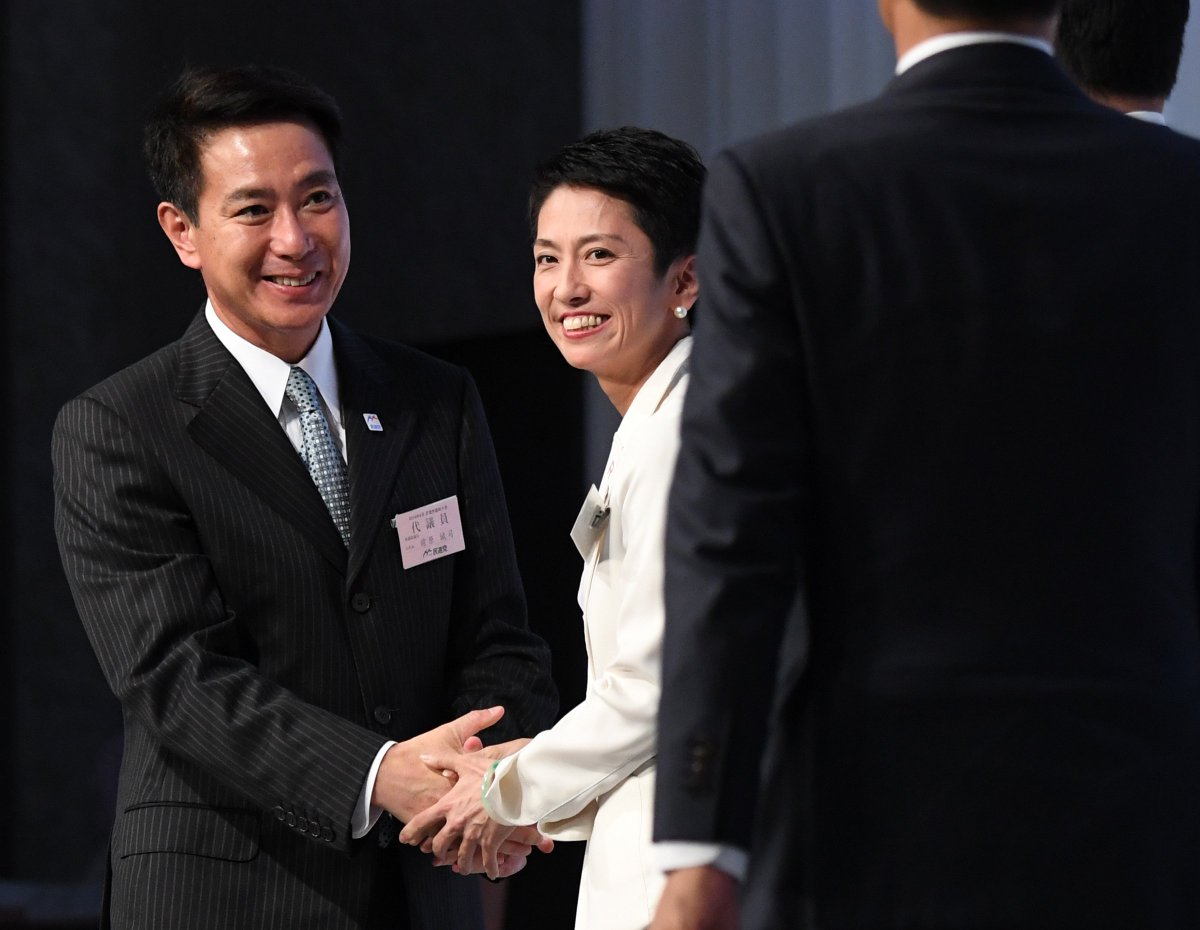 Renho forced to resign as DP lawmakers turned their backs against her