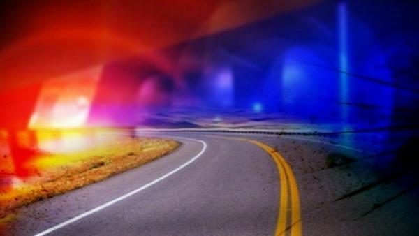 Authorities responding to motorcycle vs vehicle crash