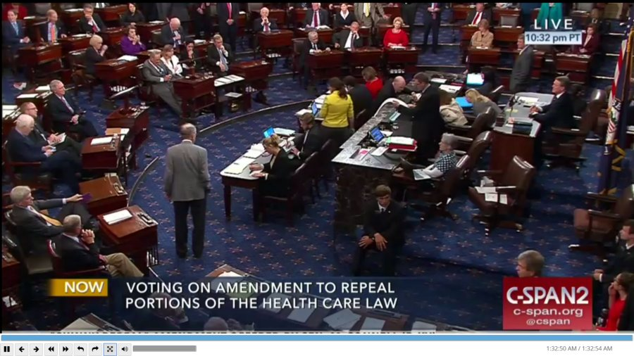 BREAKING Republicans defect, kill Senate effort to repeal Obamacare