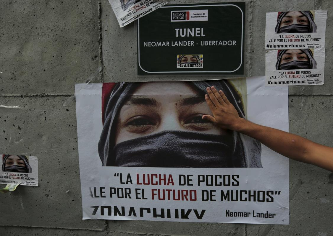 Deaths in Venezuela unrest hit 103 as polarizing vote nears