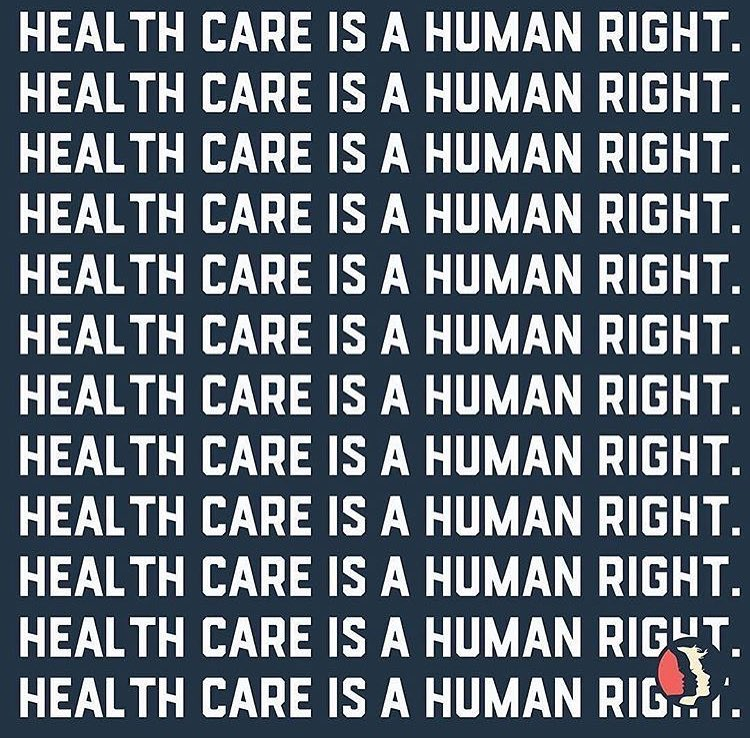 We will never stop fighting to protect health care for ALL 💙❤️💚💜💛 @happyhippiefdn