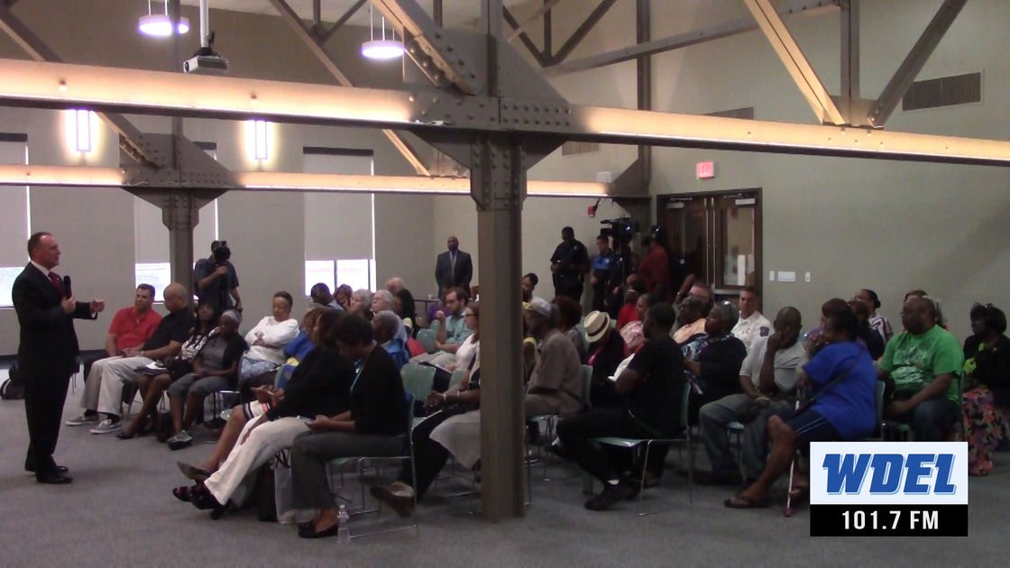 VIDEO | Some residents want less talk, more action from Wilmington's police chief, others will give him a chance