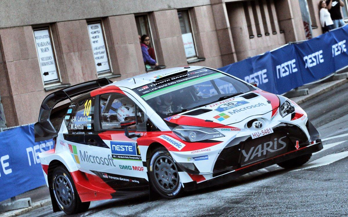 RT @F1Gate: 【WRC】 トヨタ:WRC 第9戦 ラリー・フィンランド 初日レポート  https://t.co/Ki33lEwZid  #WRC #WRCjp #Toyota #RallyFinland https://t.co/F0xPKtWx0V