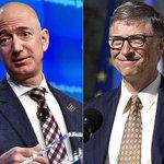 Bill Gates volta a ser mais rico mundo, após queda das ações da Amazon