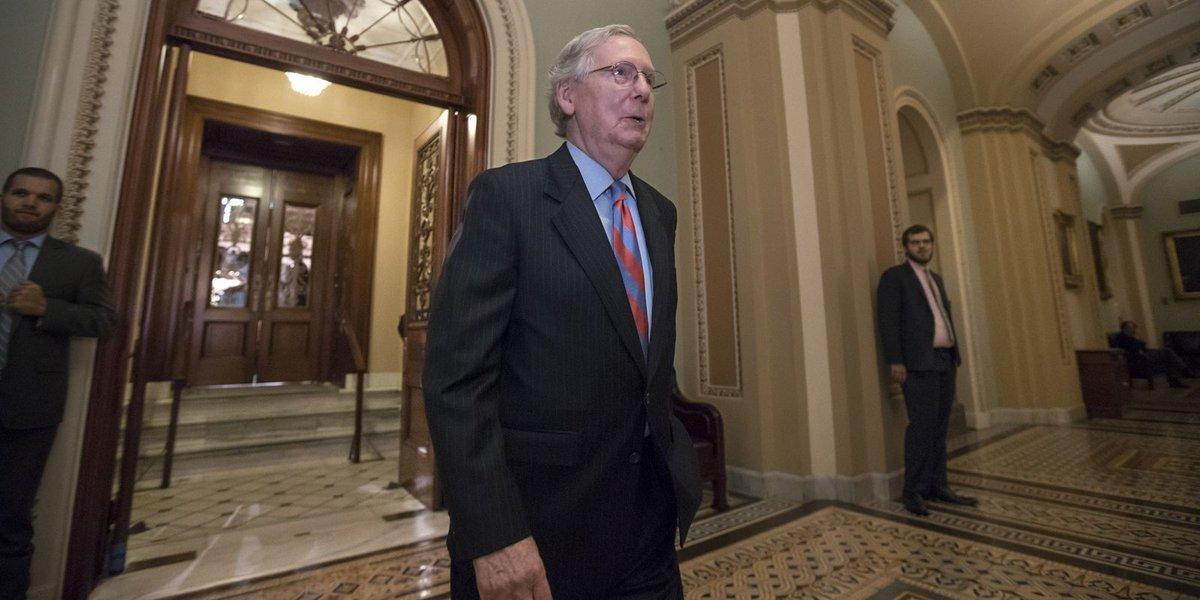 Senate health care debate devolves into confusion and empty votes