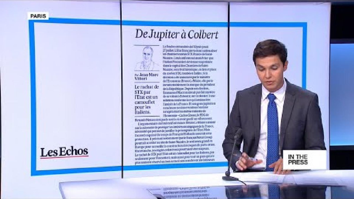 ?? 'From Jupiter to Colbert': France's nationalisation of shipyard draws criticism