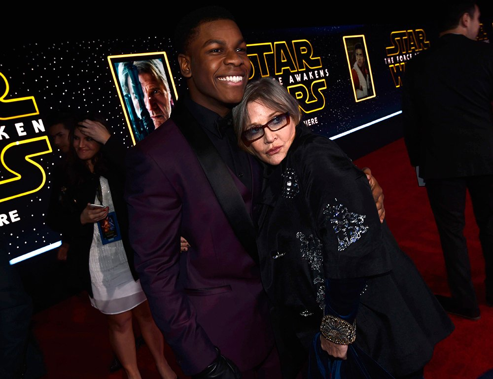.@JohnBoyega opens up on working with Carrie Fisher on #StarWars: 'I'll miss her energy' https://t.co/rHybxS6zuL https://t.co/l1NsAa2Xn1