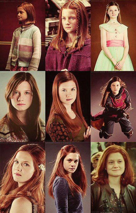 Happy 36th birthday to ginny weasley!