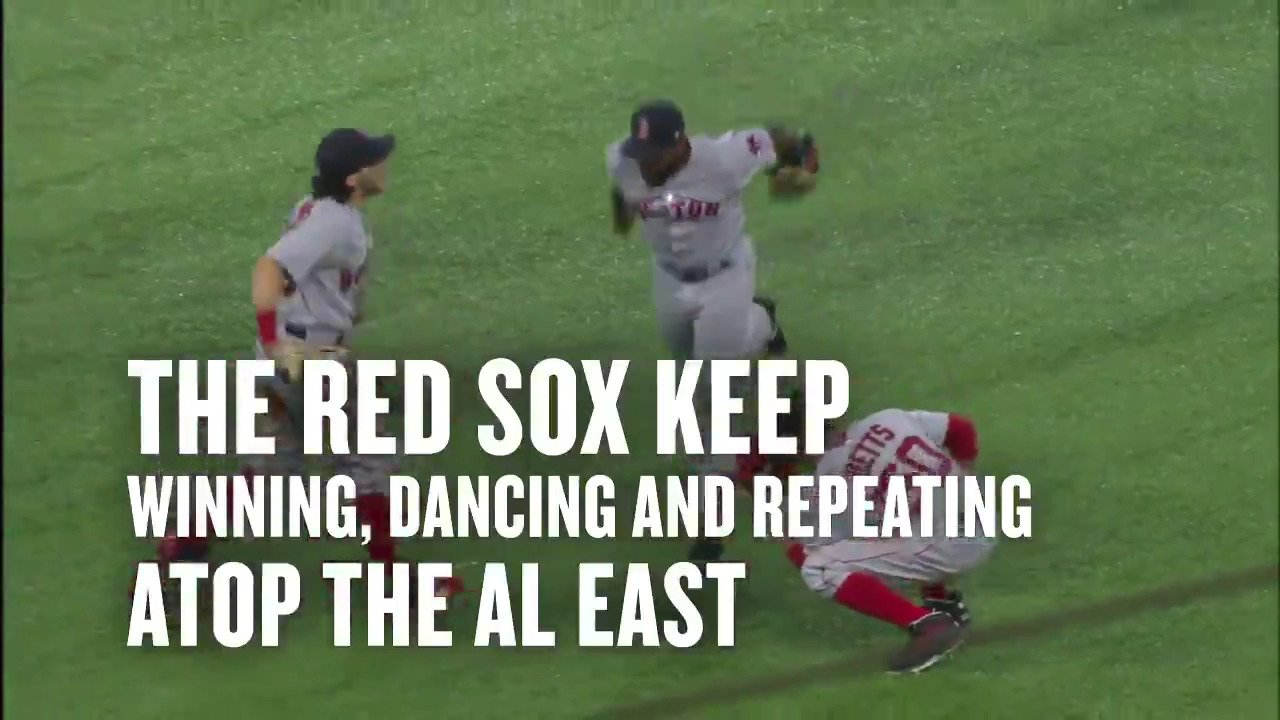 Young studs. New faces. AL East supremacy.  This is #TheRivalry. https://t.co/H3CUPPIh9p #ThisSeason https://t.co/D014VgBwZz