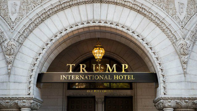 Government accidentally posts documents revealing profits for Trump's DC hotel https://t.co/u80HVZYeUl https://t.co/8MOAwFjUDc
