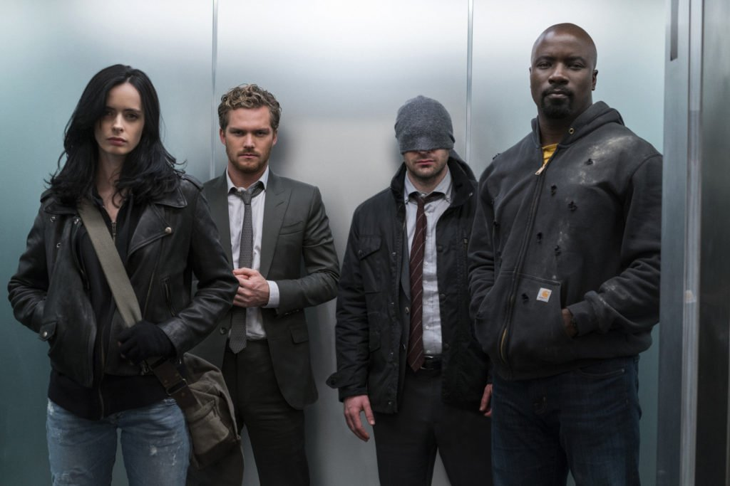 Watch @TheDefenders cast geek out about what it was like to join forces on set: https://t.co/zO5HVlvZD4 https://t.co/5uZrzb68SJ