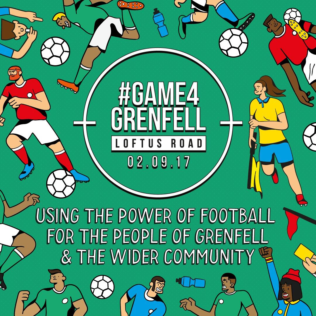 Another match definitely worth being at #Game4Grenfell For you at #AFCvLCFC and everyone else https://t.co/o0M4prMYfC