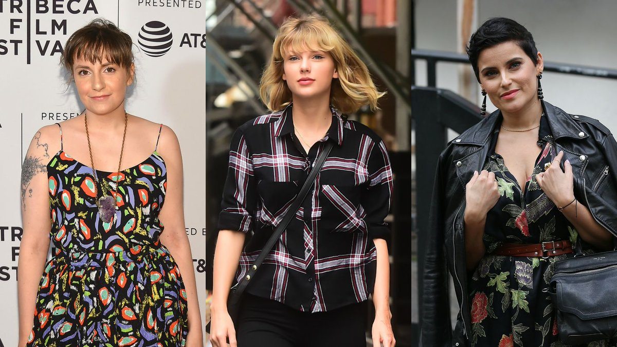 Lena Dunham, Nelly Furtado, And More Support Taylor Swift's Stand Against Sexual Harassment