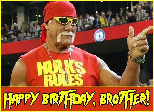 Happy Birthday to the Legendary Hulk Hogan.