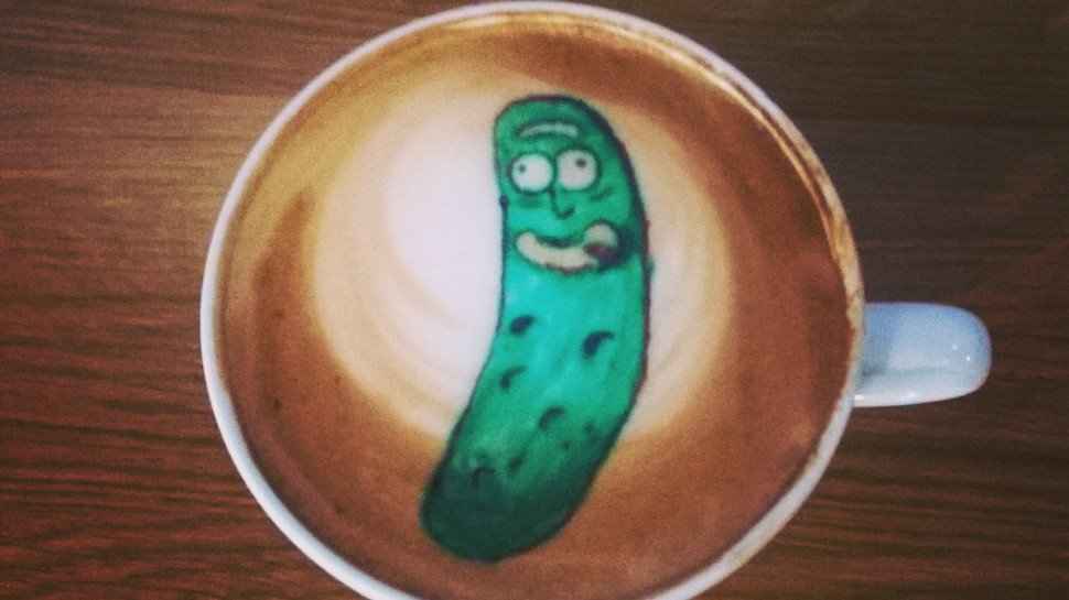 #PickleRick is a big dill, so #FanArtFriday is all about his transformation: https://t.co/S9391vW1gU https://t.co/mPwflAl2WC
