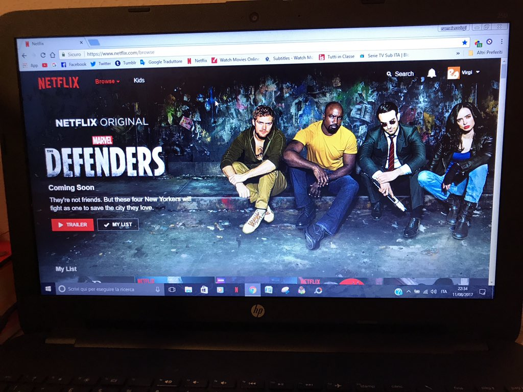 Mi è preso un colpo!!!! Netflix cattivo https://t.co/jToNtnfPXx