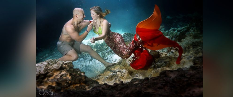 Couple celebrates engagement with enchanting mermaid-themed photo shoot: https://t.co/leHra5NAD2 https://t.co/e59vaH6rYd