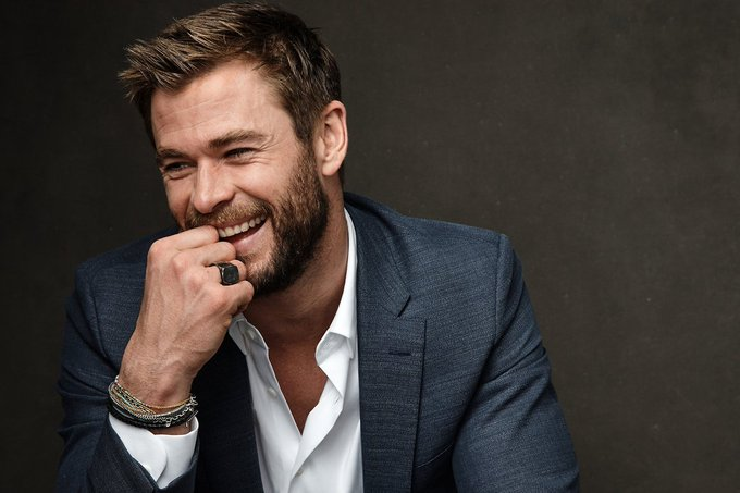 Happy birthday to one of my favorite human being Chris Hemsworth