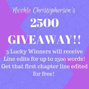 2500 Twitter Followers Giveaway!