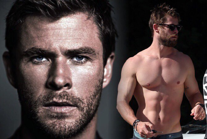 Happy Birthday, Chris Hemsworth! Aug 11, 1983