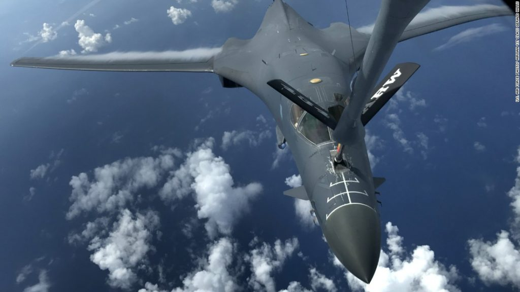 US B-1 #Bombers #Ready if #Called upon by #Trump - https://t.co/R5J9NnYaKR - #B1 #Topstories https://t.co/0dSO7oVeEG
