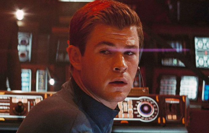Happy Birthday Chris Hemsworth.  I hope we will see you again in Star Trek if another movie is coming out.