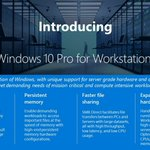 Windows 10 Portfolio Just Got Crowded with the Unveiling of Windows 10 Pro for Workstations
