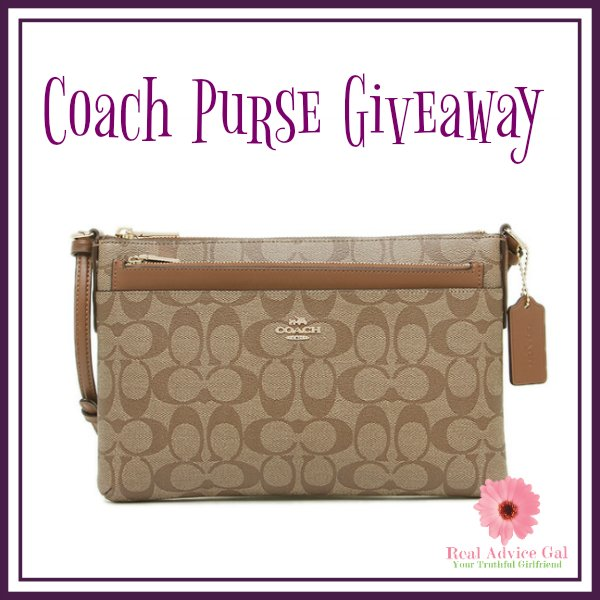 #Win this Cross Body Coach Purse! US ends 9/1 -