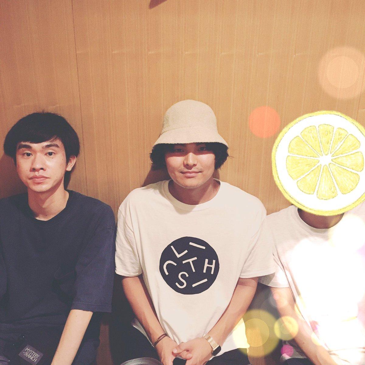 昨晩は、漫画「とんかつDJアゲ太郎」作者 小山さん、原案者 イーピャオさん、never young beach 巽さんと