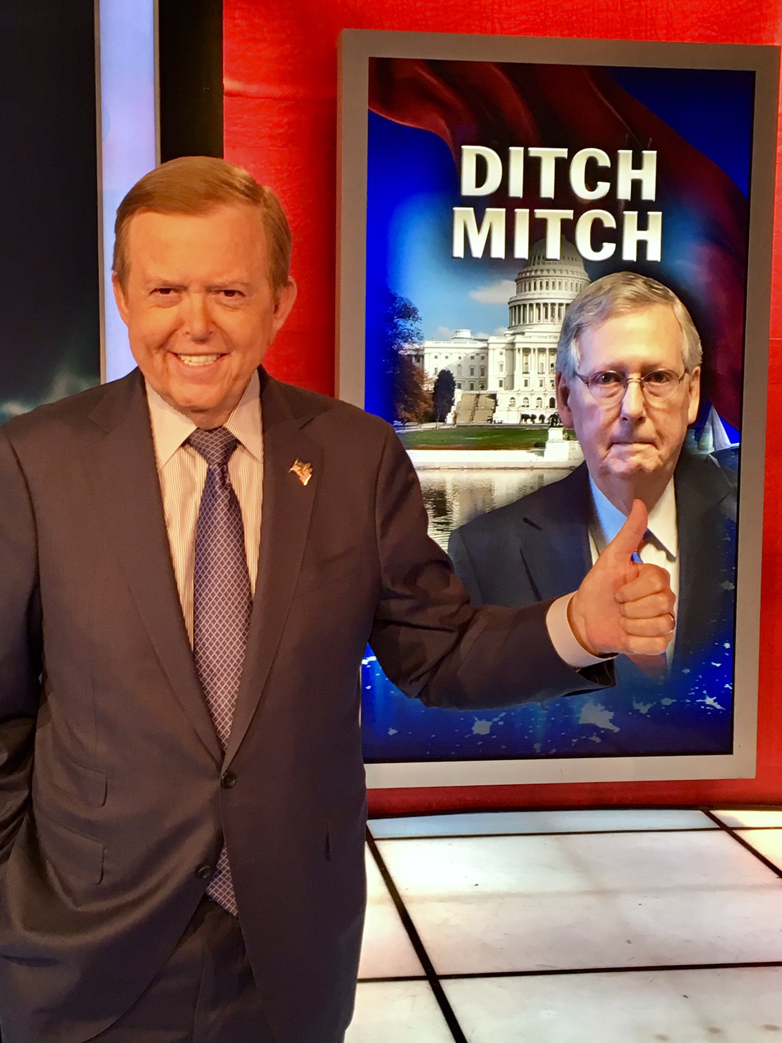 #DitchMitch- McConnell committing political suicide for failing to uphold @POTUS' America-First Agenda! #MAGA   https://t.co/6RgK0pJYyT