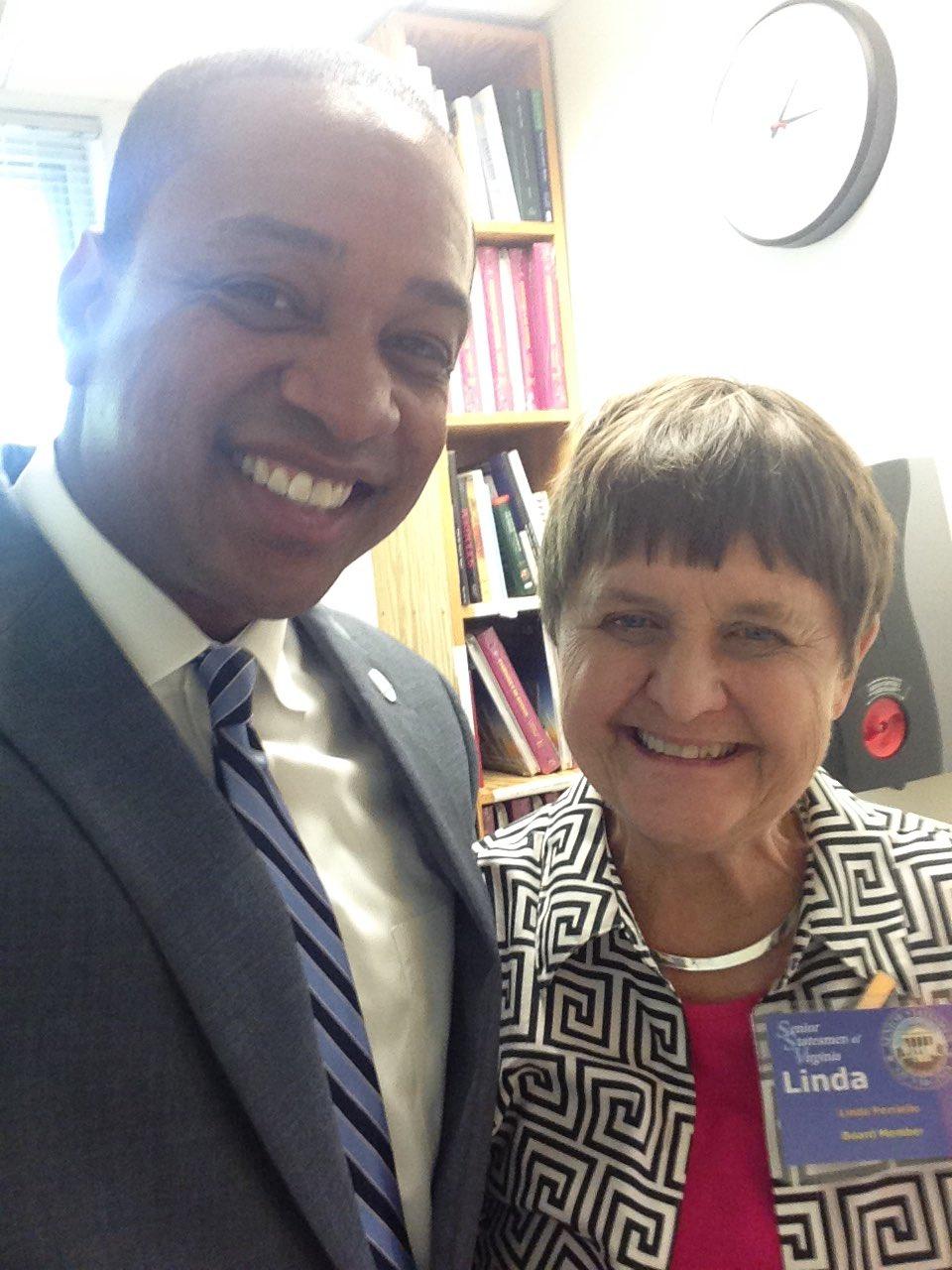 Mom declares @FairfaxJustin winner of today's LtGov debate! Follow lead of @lindaperriello and get involved! #WinVA https://t.co/xtlMF7iXzi