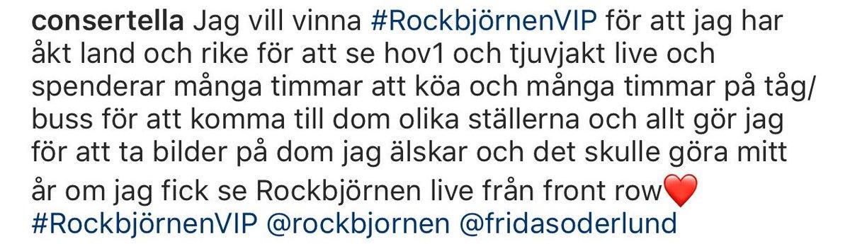 #RockbjörnenVIP