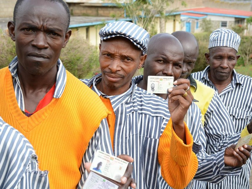 276 inmates vote in Naivasha prison, hail new rule on rights