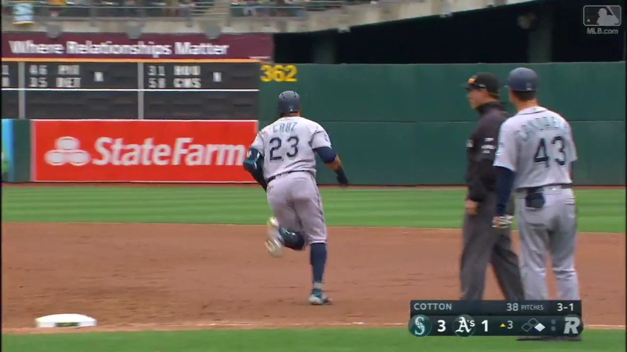 When @ncboomstick23 breaks the sound barrier. https://t.co/ssUMFwKxbC