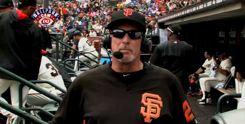 The @SFGiants' Ron Wotus joins the #MLBNow telecast right now! https://t.co/knF3u8UCtx