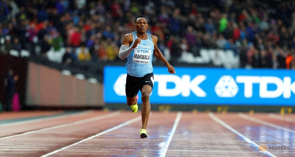 Makwala reaches 200 metres final, Van Niekerk scrapes in