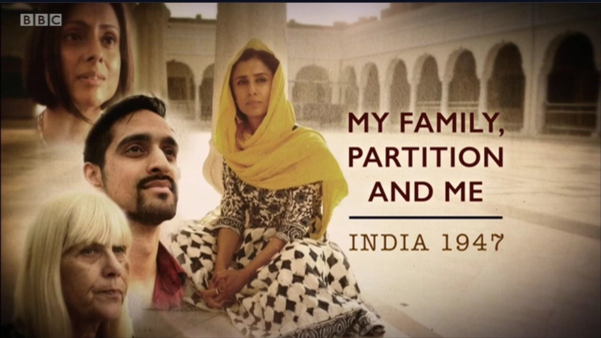 RT @WomenBuzz: Compelling first-hand testimony from British #Partition survivors.#bbc1 #AnitaRani https://t.co/hWWOLwFqWm