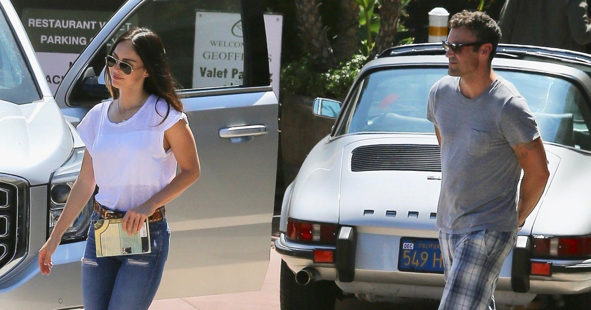 Megan Fox and Brian Austin Green Step Out For Lunch in Malibu
