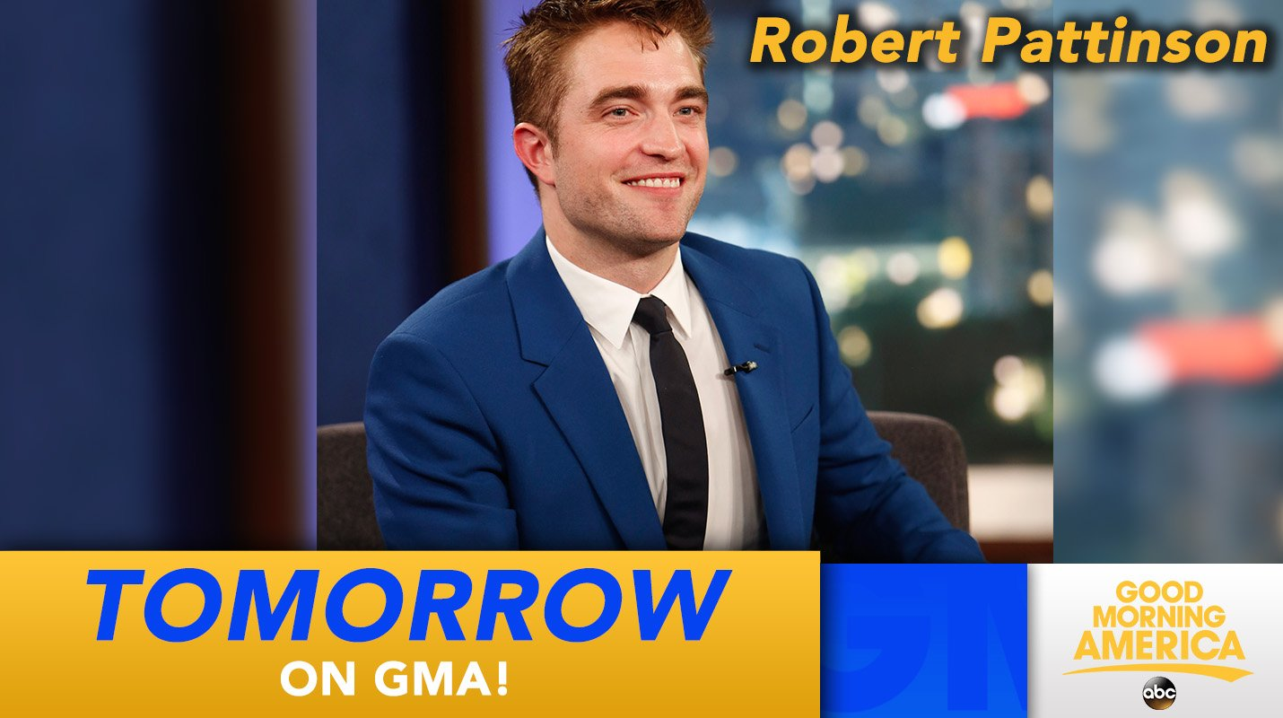 TOMORROW: Robert Pattinson joins us LIVE in Times Square! https://t.co/orAPIcMP5u