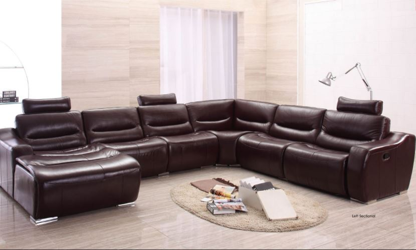 Accentuate the #decor of your #livingroom with this #modern #italian #leather...