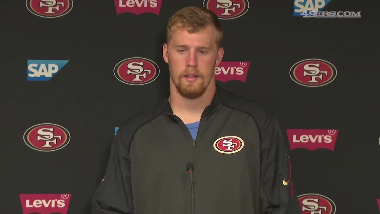 Quotes from OL Zane Beadles, OL Brandon Fusco and QB C.J. Beathard after today's #49ersCamp practice. https://t.co/Nn7aPf0tIX