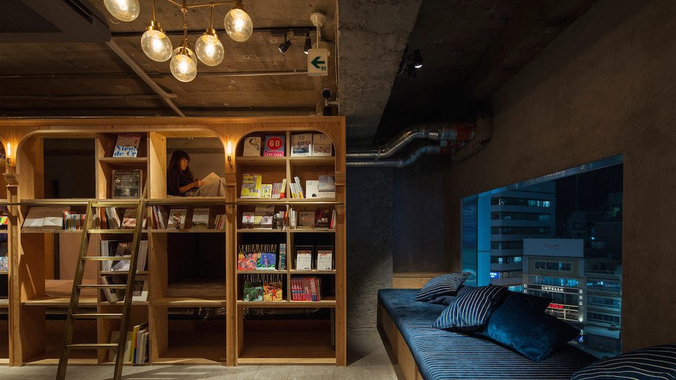 Time to plan a literary stopover in #Tokyo at this book-ish hostel: https://t.co/ee8Y7KR9yu #BookLoversDay https://t.co/w0cGZT6Mp7