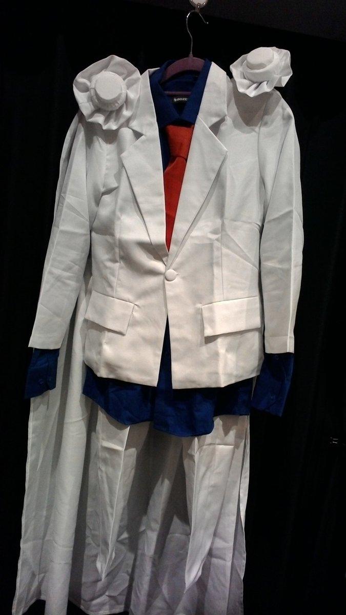 怪盗キッドの衣装が入荷しました✨モノクルも付属します✨ #kbooks #名探偵コナン  #まじっく快斗