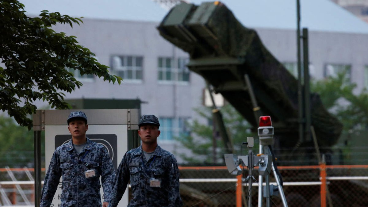Japan ready to protect Guam, defense minister says via @LukasMikelionis